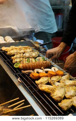 Street food in HongKong