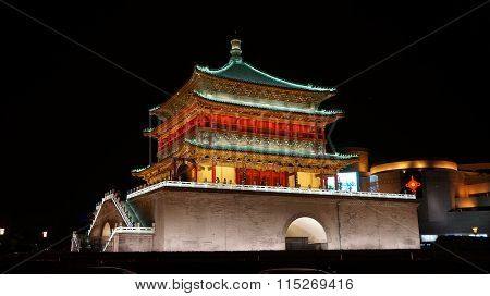 Bell Tower of Xi'an China