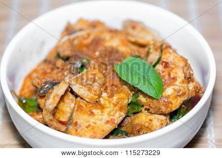 Giant Sea Catfish Curry