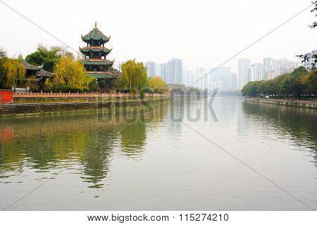 Landscape of Chengdu
