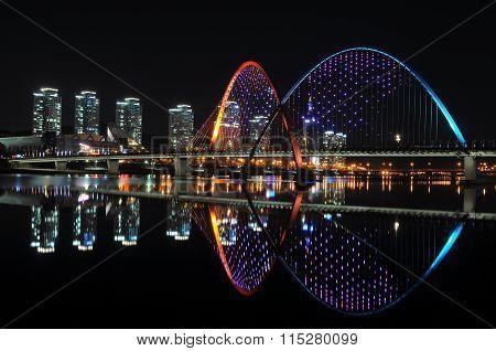 EXPO bridge, part of Expo Park in Korea