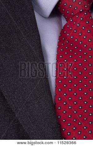 Business Suit Close Up