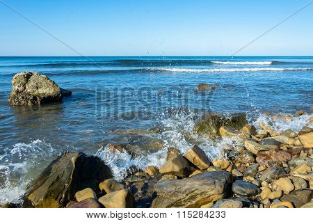 Rocky Seashore.