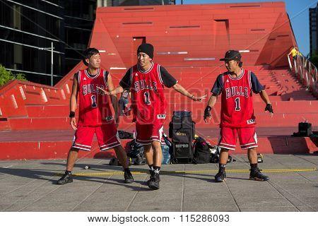 2016 Australian Open - Melbourne Street Performers