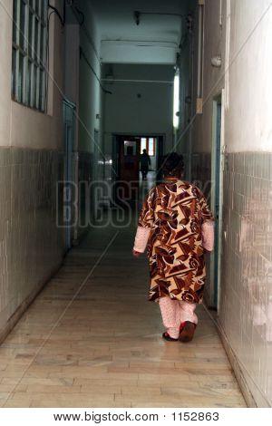 Corridor In An Hospital