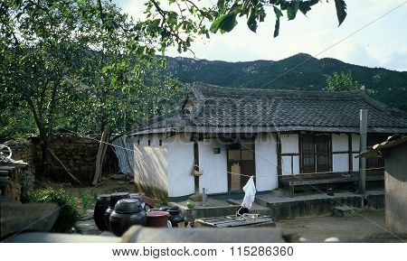 Living Quarters at a Buddhist Temple