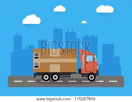 Delivery truck concept