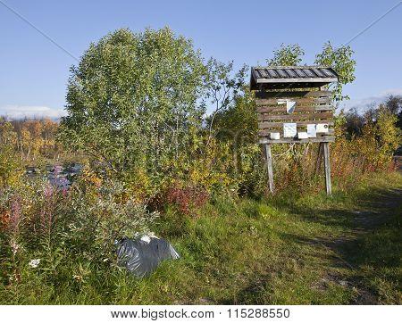 LAPLAND, SWEDEN ON SEPTEMBER 16