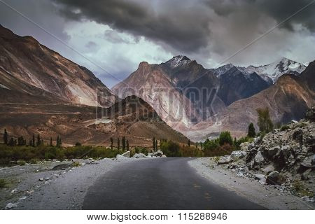 Mountain Road to Chitral