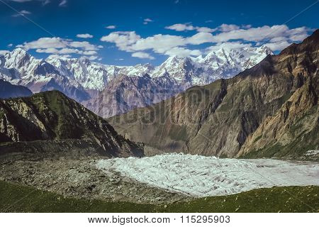 View from Rakaposhi base camp