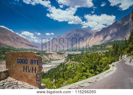 Good bye Karakorum Highway