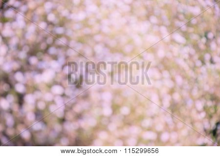Pink glitter bokeh background, vintage style