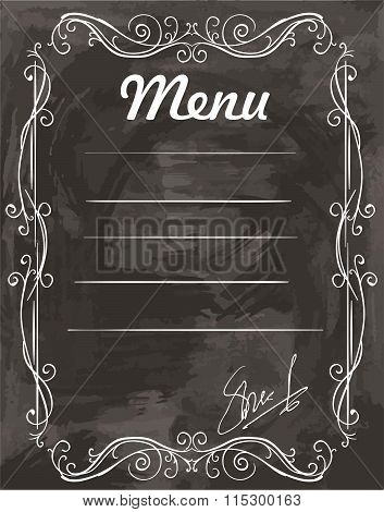 empty sample menu