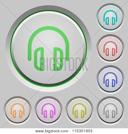 Headset Push Buttons