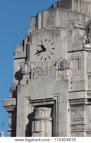 Watch Of Central Railway Station, Milan