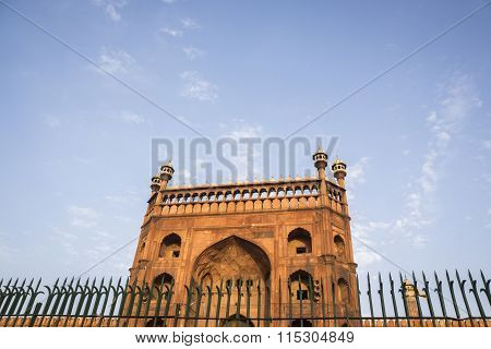 Fence Of Jama Masjid