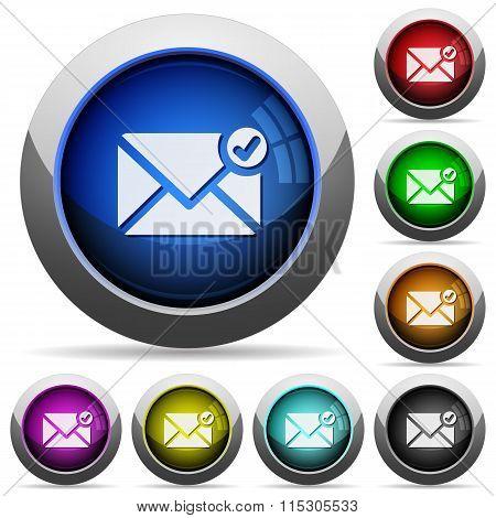 Mail Sent Button Set