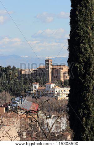 Sant Anselmo All Aventino In Rome
