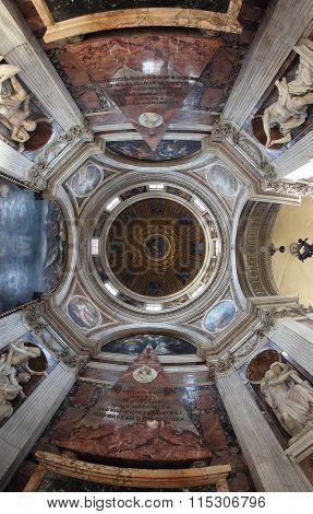 Santa Maria Del Popolo Dome, Rome