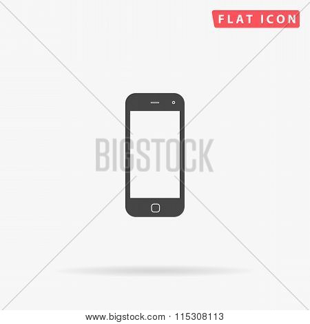 mobile simple flat icon
