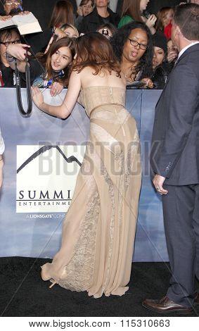 Kristen Stewart at the Los Angeles Premiere of