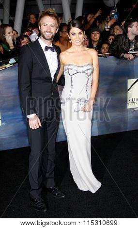 Nikki Reed and Paul McDonald at the Los Angeles Premiere of