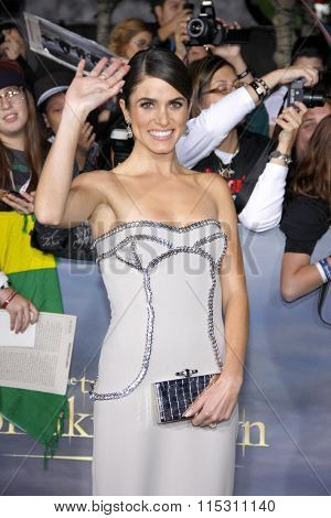 Nikki Reed at the Los Angeles Premiere of