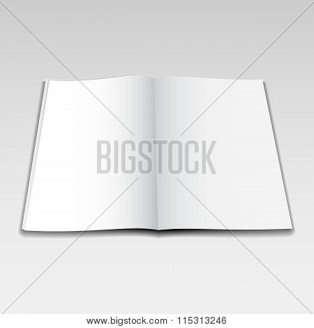 Vector Magazine Opened Mockup5