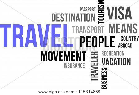 Word Cloud - Travel