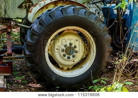 Old Tractor Tire