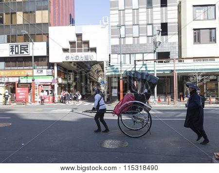 Pedicabs In Tokyo