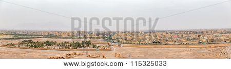 Yazd panoramic view