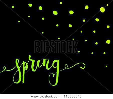 Spring Postcard, Card, Invitation, Flyer, Banner Template
