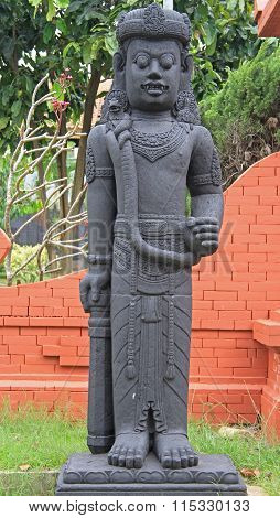 statue of indian god in Taman Mini Indonesia