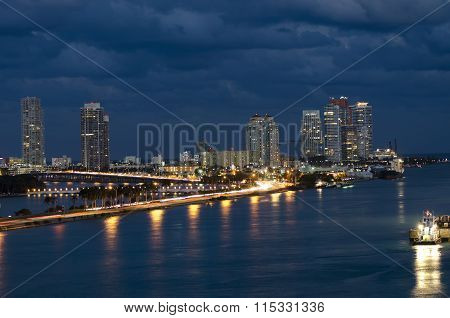 Biscayne Bay In Miami Florida
