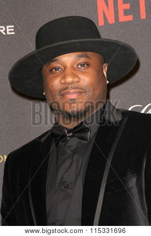 BEVERLY HILLS, CA - JAN. 10: MC Sincere Show arrives at the Weinstein Company and Netflix 2016 Golden Globes After Party on Sunday, January 10, 2016 at the Beverly Hilton Hotel in Beverly Hills, CA.