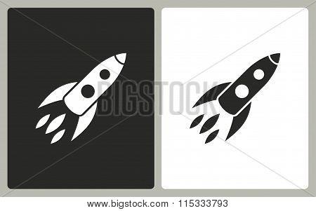 Rocket - Vector Icon.