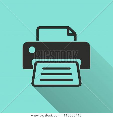 Printer - Vector Icon.