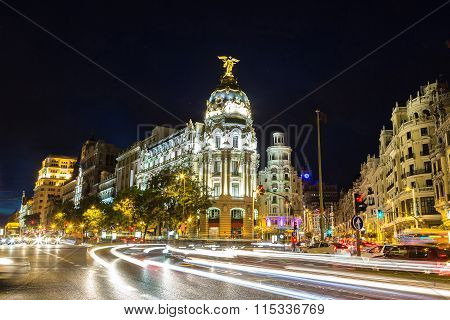 Metropolis Hotel In Madrid