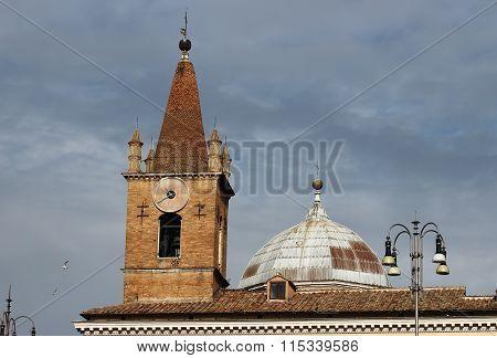 Bell Tower Santa Maria Del Popolo, Rome