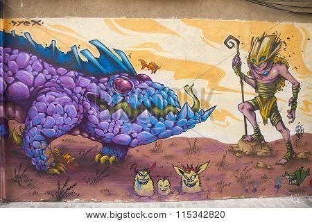 Valencia Graffiti, Old Town