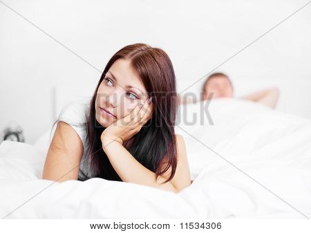 Couple On The Bed