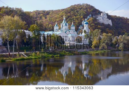 Orthodox Monastery, Sacred Mountains. Donbass, Ukraine