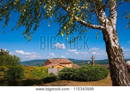 chapel saint jean des vignes,rhone,france