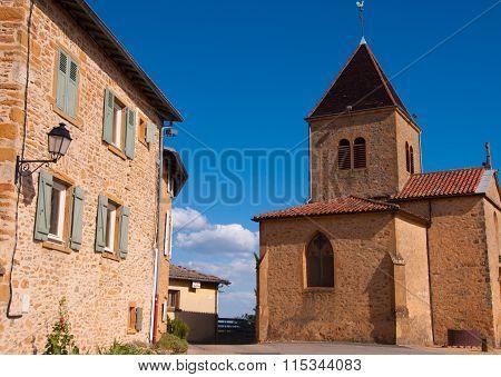 chapel saint jean des vignes ,rhone,france