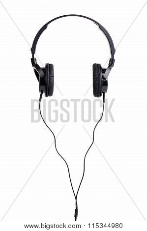 Pair Of Black Headphones