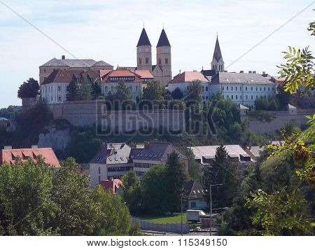 The Castle in Veszprem ( Hungary )