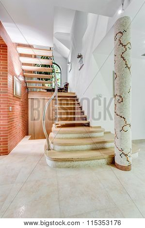 Fancy Stairs In Flashy House