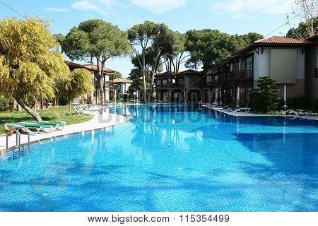 The Villas And Swimming Pool.
