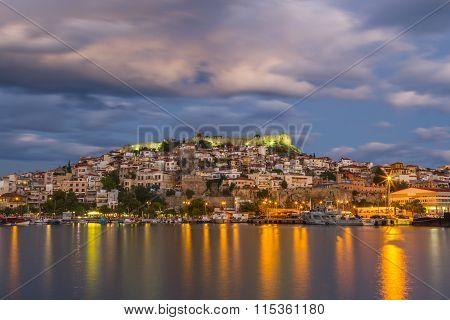 Kavala town, Greece
